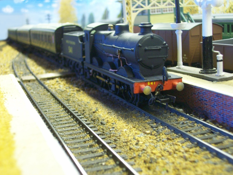 Q - Class. With Maunsell Set