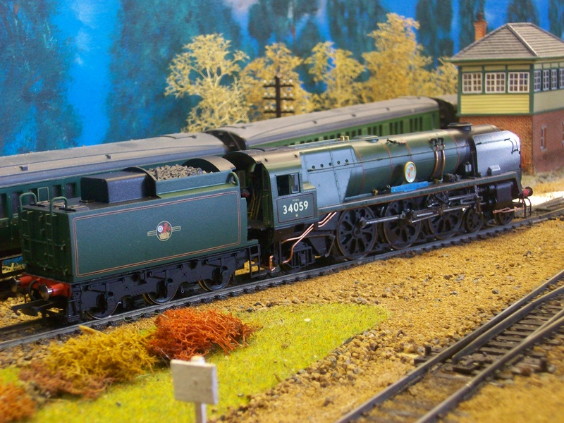 Returning Sir Archibald Sinclair, now with larger tender.